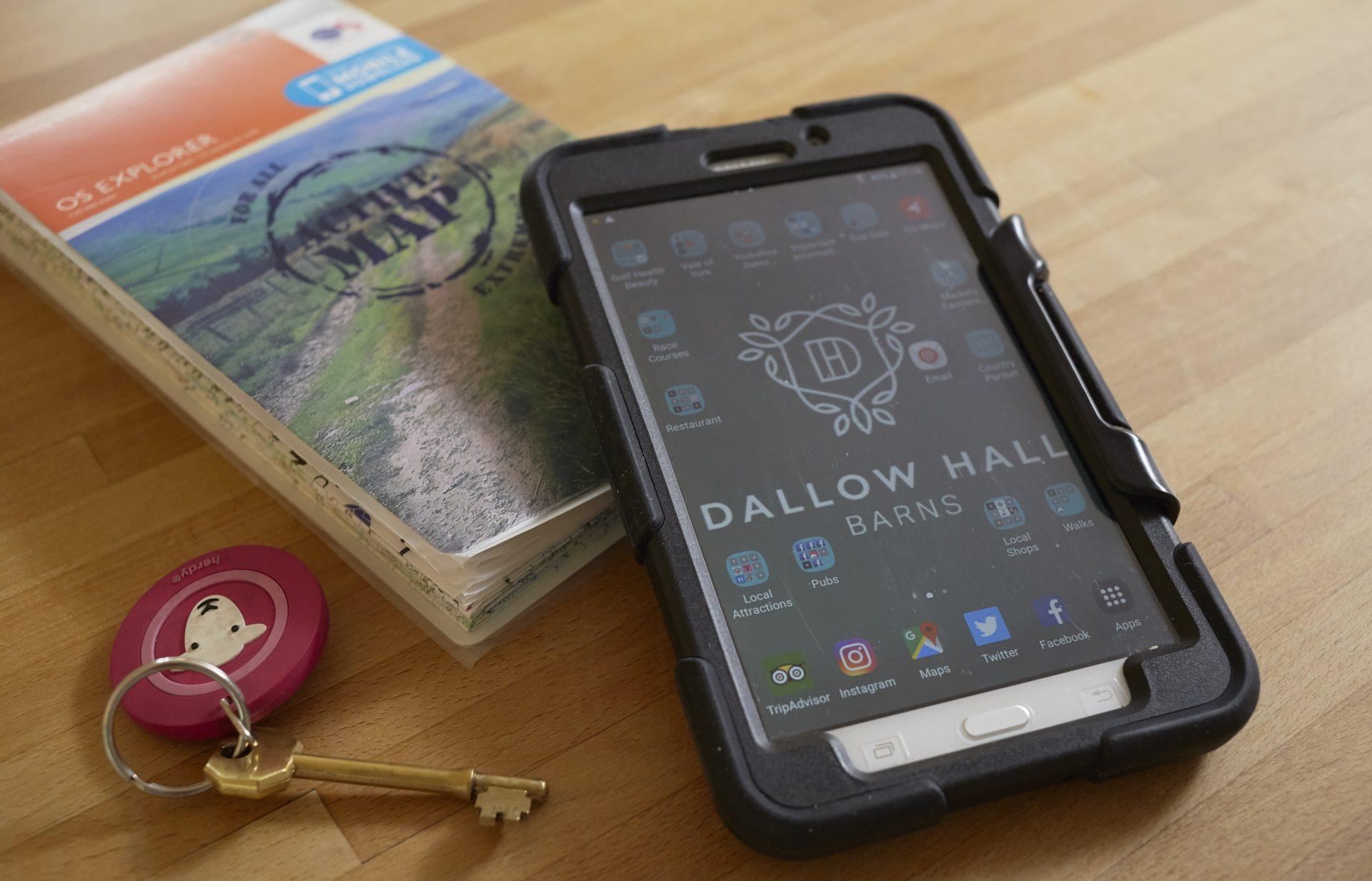 Dallow Hall Barns